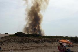 Incendio en sa Canova