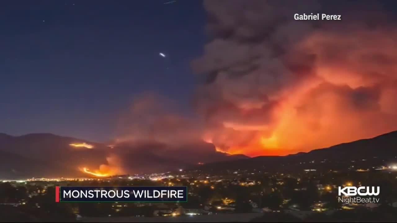 Continúa sin control el incendio en California que ha arrasado ya 10.370 hectáreas