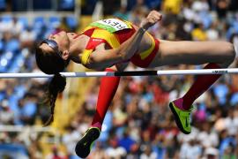 Ruth Beitia competirá por las medallas en salto de altura