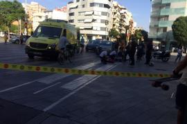 Impactante accidente en Jacint Verdarguer