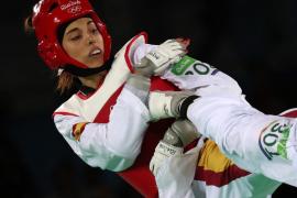 Eva Calvo, plata en la categoría de menos de 57