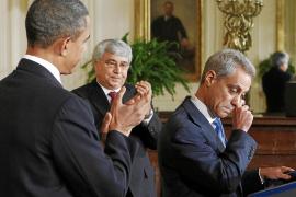 Obama sustituye a su mano derecha a un mes de las legislativas