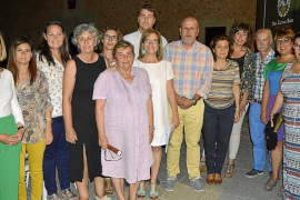 Homenaje al poeta Damià Huguet