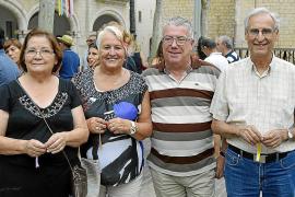 Baile de Cossiers en Alaró por las fiestas de Sant Roc