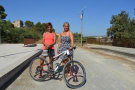 Sant Llorenç presenta la ruta ciclista Marga Fullana