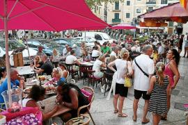 La recaudación por multas a las terrazas cae casi un 90 % en un año