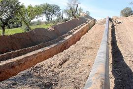 Las obras del gasoducto dejan al descubierto un yacimiento arqueológico