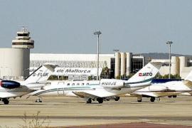 Son Sant Joan supera todos sus registros de tráfico de aviones privados este verano