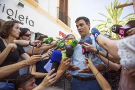 Sánchez dice que su rechazo a Rajoy es un «sí a la regeneración»
