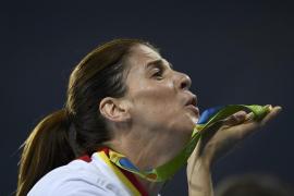 Ruth Beitia, oro en altura, cumple su último sueño con 37 años