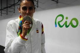 Alba Torrens en Río 2016 con su medalla de plata