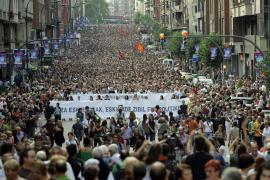 El nacionalismo vasco sale unido a la calle de la mano de PNV y Batasuna