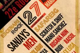 La XXII edición del Rock 'n' Rostoll sacude Maria de la Salut