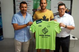 'Lolo' Suazo: «El Palma Futsal será un rival a batir»