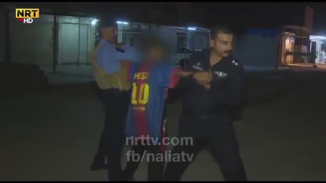 Detienen a un chico de unos 14 años con un cinturón explosivo aferrado al cuerpo