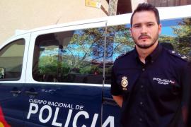 Un policía nacional fuera de servicio salva la vida de dos niños en Son Serra de Marina