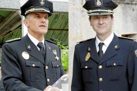 Suspendidos de empleo y sueldo Joan Mut y Antoni Morey, exjefes de la Policía Local de Palma