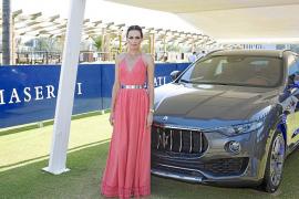 Nieves Alvarez entregó la copa de Bronce Maserati