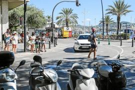 Los semáforos 'invisibles' de la avenida Santa Eulària