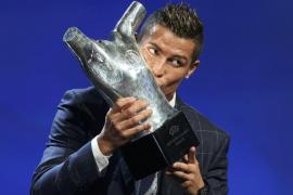 Eligen a Cristiano Ronaldo como el mejor jugador de Europa de la temporada 2015-16