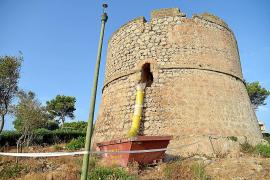 El Consell solicita la restauración de la cubierta de la torre de La Mola de Andratx