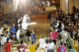 'Jaleo' para cerrar Sant Bartomeu en Ses Salines