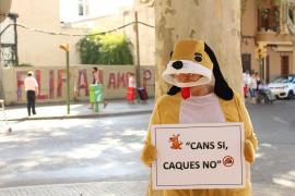 'Pere Guau' contra los incívicos en el barrio de Pere Garau