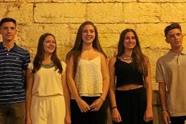La joven Marta Villacreces es elegida Vermadora Major de Binissalem