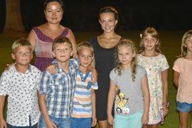 Cena de despedida para niños ucranianos y bielorrusos