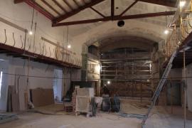 Las obras de reforma del Mar i Terra dejan entrever los nuevos usos del edificio