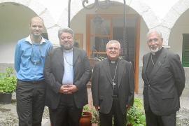 Visita pastoral a Mallorca del arzobispo Policarpo, nuncio de Constantinopla