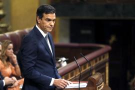 Sánchez: «Votaremos en contra por coherencia y por el bien del país»