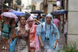El norte de Balears, entre las zonas en las que más lloverá este otoño