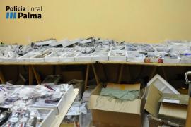 Un detenido después de descubrir en su casa unos 10.000 relojes falsificados