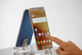 Samsung retira los Galaxy Note 7 por explosiones de su batería al cargar