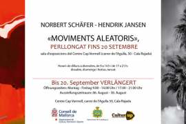 Norbert Schäfer y Hendrik Jansen recalan con 'Moviments Aleatoris' en el Centre Cap Vermell