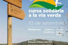 Aplazada la carrera solidaria 57K en la Vía Verde Artà - Manacor