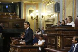 Llamamiento de Sánchez a las fuerzas del cambio para desatascar el país