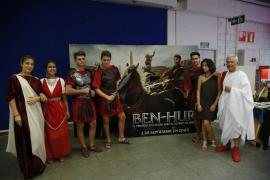 El estreno de 'Ben-Hur' trae el Imperio Romano a las salas Ocimax