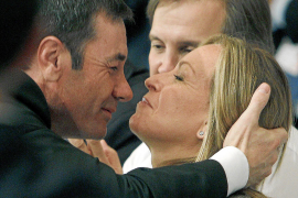 Gómez y Jiménez escenifican la 'piña' del PSOE de Madrid tras las primarias