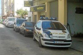 Dos alumnos de una academia de formación de policías de Palma, heridos al dispararse un arma