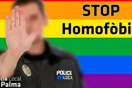 La Policía Local de Palma inicia una campaña contra la homofobia
