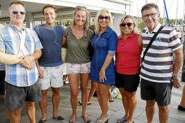 Entrega de trofeos de la regata Gran Día de la Vela Bufete Frau