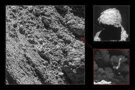 Localizan el módulo Philae a unas semanas del fin de la misión Rosetta