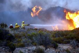 El incendio de Menorca se ha iniciado por un petardo