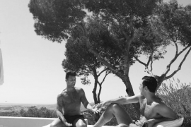 Ricky Martin presume de cuerpo en Ibiza