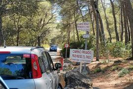 Denuncian la usurpación de caminos públicos en la urbanización Formentor