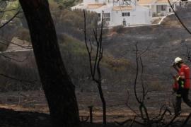 Controlado el incendio de Menorca que ha quemado 23,7 hectáreas
