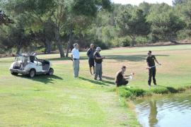 Medi Ambient detecta un sondeo ilegal para extraer aguas subterráneas para el riego de un campo de golf