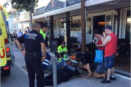 La Policía Local de Son Servera auxilia a un bebé que sufría convulsiones